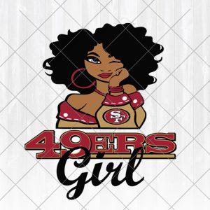 San Francisco 49ers Girl svg - San Francisco 49ers Girl -NFL Team Girl Svg -Football Team Svg - Football Svg NFL Svg - Digital Download