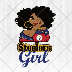 Pittsburgh Steelers Svg Girl svg - Pittsburgh Steelers Svg Girl - NFL Team Girl Svg -Football Team Svg - Football Svg NFL Svg - Digital Download