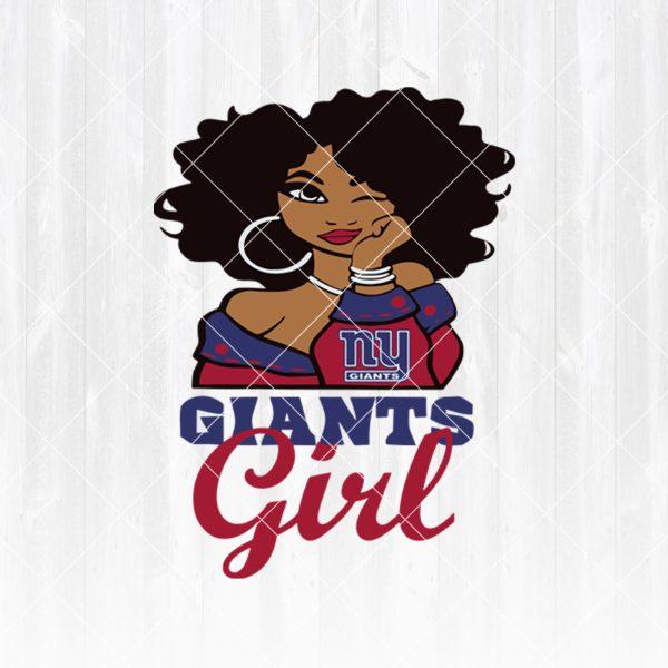 New York Giants Girl svg - New York Giants Girl - NFL Team Girl Svg -Football Team Svg - Football Svg NFL Svg - Digital Download