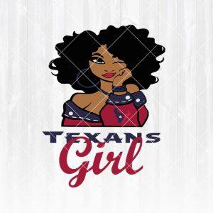 Houston Texans Girl svg - Houston Texans Girl - NFL Team Girl Svg -Football Team Svg - Football Svg NFL Svg - Digital Download