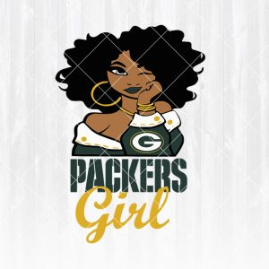 Green bay packers Girl svg -Green bay packers Girl - NFL Team Girl Svg -Football Team Svg - Football Svg NFL Svg - Digital Download