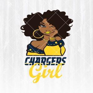 Los Angeles Chargers Girl svg - Los Angeles ChargersGirl - NFL Team Girl Svg -Football Team Svg - Football Svg NFL Svg - Digital Download