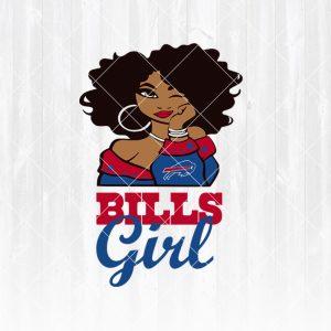 Buffalo Bills Girl svg - Buffalo BillsGirl - NFL Team Girl Svg -Football Team Svg - Football Svg NFL Svg - Digital Download