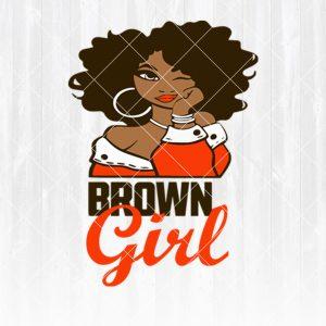 Cleveland Browns Girl svg - Cleveland BrownsGirl - NFL Team Girl Svg -Football Team Svg - Football Svg NFL Svg - Digital Download