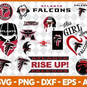 Atlanta falcons NFL Svg - Atlanta falcons NFL -NFL Svg - Bundle NFL Svg - National Football League Svg - Digital Download