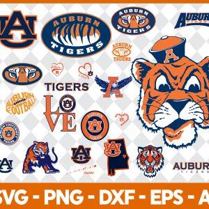 Auburn Tigers NCCA Svg -Auburn Tigers NCCA - NCCA Svg - Bundle NCCA Svg - Football Svg - NCCA Football Svg - Digital Download