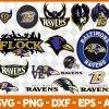 Baltimore Ravens NFL Svg - Baltimore Ravens NFL -NFL Svg - Bundle NFL Svg - National Football League Svg - Digital Download
