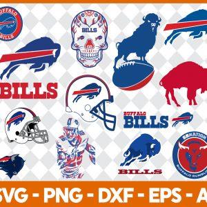 Buffalo Bills NFL Svg - Buffalo Bills NFL -NFL Svg - Bundle NFL Svg - National Football League Svg - Digital Download