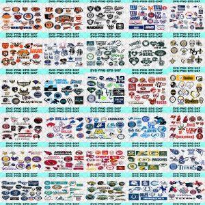 NFL Bundle Svg - NFL Bundle - Sport Svg, Mega Bundle Sport NFL, All NFL Teams 2400 Files, National Football League - Digital Download