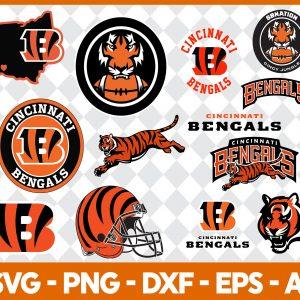 Cincinnati Bengals NFL Svg - Cincinnati Bengals NFL -NFL Svg - Bundle NFL Svg - National Football League Svg - Digital Download