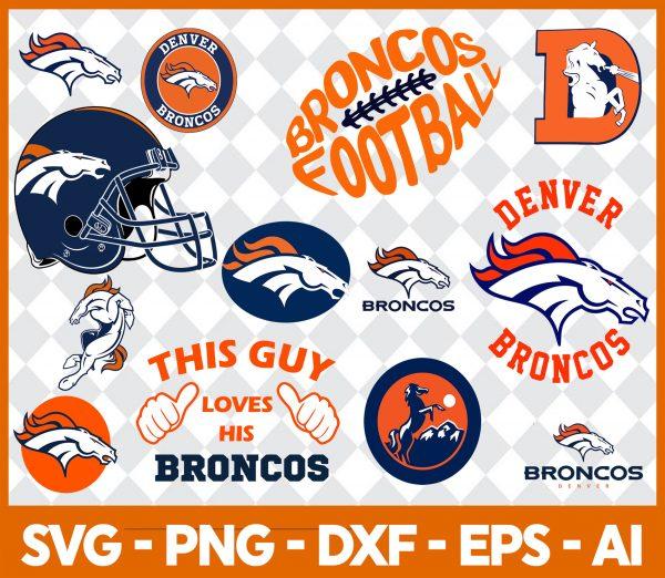 Denver Broncos NFL Svg - Denver Broncos NFL -NFL Svg - Bundle NFL Svg - National Football League Svg - Digital Download
