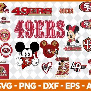 San Francisco 49ers NFL Svg - San Francisco 49ers NFL -NFL Svg - Bundle NFL Svg - National Football League Svg - Digital Download