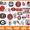 Georgia Bulldogs NCCA Svg - Georgia Bulldogs NCCA - NCCA Svg - Bundle NCCA Svg - NCCA Football Svg - Football Svg - Digital Download