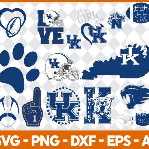 Kentucky Wildcats NCCA Svg -Kentucky Wildcats NCCA - NCCA Svg - Bundle NCCA Svg - Football Svg - NCCA Football Svg - Digital Download