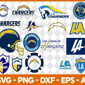 Los Angeles Chargers NFL Svg - Los Angeles Chargers NFL -NFL Svg - Bundle NFL Svg - National Football League Svg - Digital Download