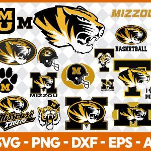 Missouri Tigers NCCA Svg -Missouri Tigers NCCA - NCCA Svg - Bundle NCCA Svg - Football Svg - NCCA Football Svg - Digital Download