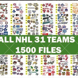 NHL Bundle Svg - NHL Bundle - Sport Svg - Mega Bundle Sport NHL - All NHL Teams - hockey lovers - National Hockey League - Digital Download