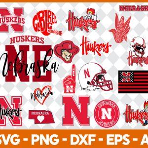 Nebraska Huskers NCCA Svg -Nebraska Huskers NCCA - NCCA Svg - Bundle NCCA Svg - Football Svg - NCCA Football Svg - Digital Download