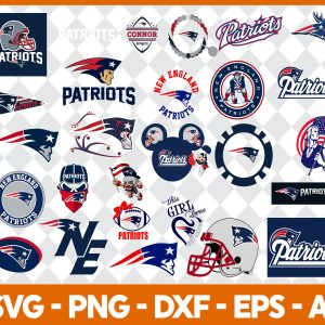 New England Patriots NFL Svg - New England Patriots NFL -NFL Svg - Bundle NFL Svg - National Football League Svg - Digital Download