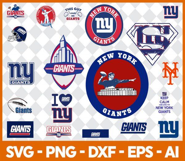 New York Giants NFL Svg - New York Giants NFL -NFL Svg - Bundle NFL Svg - National Football League Svg - Digital Download