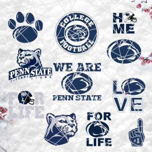 Penn State Nittany NFL Svg - Penn State Nittany NFL -NFL Svg - Bundle NFL Svg - National Football League Svg - Digital Download