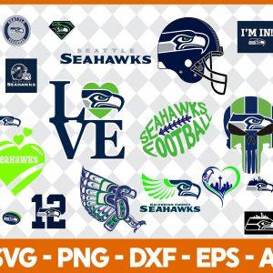 Seattle Seahawks NFL Svg - Seattle Seahawks NFL -NFL Svg - Bundle NFL Svg - National Football League Svg - Digital Download