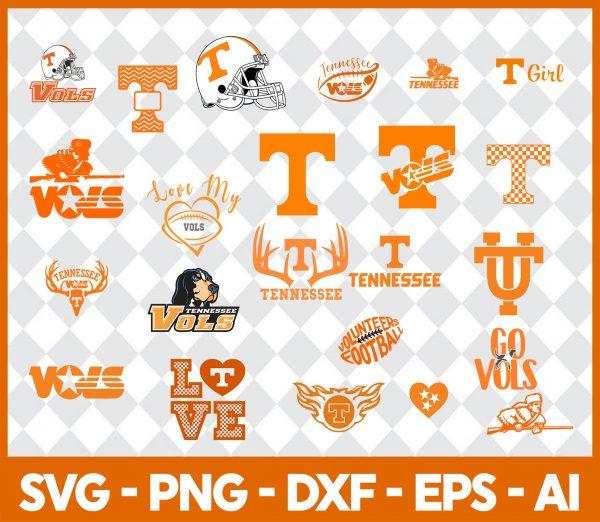 Tennessee Vols NCCA Svg -Tennessee Vols NCCA - NCCA Svg - Bundle NCCA Svg - Football Svg -NCCA Football Svg - Digital Download