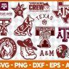 Texas A&M Aggies NCCA Svg - Texas A&M Aggies NCCA - NCCA Svg - Bundle NCCA Svg - Football Svg -NCCA Football Svg - Digital Download
