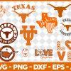 Texas Longhorns NCCA Svg -Texas Longhorns NCCA - NCCA Svg - Bundle NCCA Svg - Football Svg - NCCA Football Svg - Digital Download