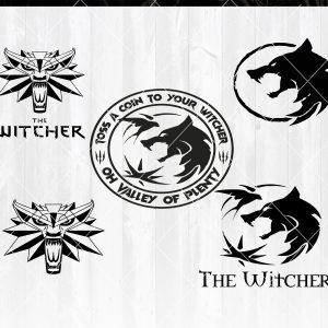 The Witcher SVG - The Witcher - Witcher logo svg - Cricut - Silhouette -Digital Download