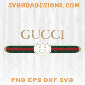 Vintage Gucci Inspired logo Art Svg - Vintage Gucci Inspired logo Art -Vector Print and cut design SVG - Digital Download