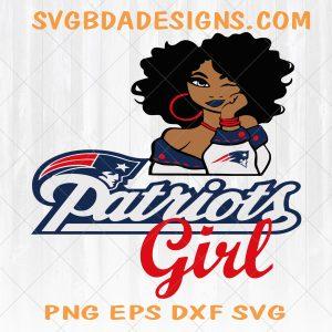 New England Patriots Girl svg - New England PatriotsGirl - NFL Team Girl Svg -Football Team Svg - Football Svg NFL Svg - Digital Download