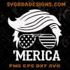 Trump Merica Svg - Trump Merica - Donal Trump 2020 Svg , Donal Trump Svg - Cricut - Silhouette - Download