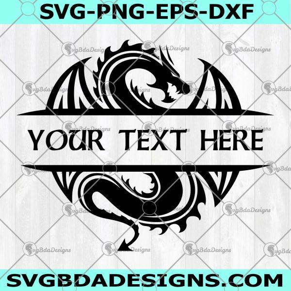 Dragon Svg- Dragon file For Cricut- Dragon file For Silhouette- Dragon Vector Svg Png Eps Ai- Digital Download