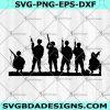 Military soldiers USA Svg - Military soldiers USA -Military soldiers Svg - soldiers SVG for Cricut Cut Files , Silhouette, Digital Download