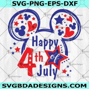 4th Of July Mickey SVG - 4th Of July Mickey - 4th Of July Svg - Independence Day Svg - Patriotic American Svg - America Pride Svg