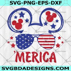 Mickey 4th Of July SVG - Mickey 4th Of July - 4th Of July Svg - Independence Day Svg - Patriotic American Svg - America Pride Svg