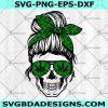 Weed Mom Skull SVG - Weed Mom Skull - Mom of Monsters Skull - Halloween Svg - Momster Svg - Mother Skull Halloween - Digital Download