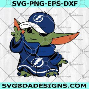 Yoda Tampa Bay Lightning Svg - Yoda Tampa Bay Lightning- Baby Yoda Hockey Svg - Final 2021 Svg - Digital Download