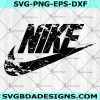 Nike SVG - Nike Grunge Svg, Nike Distressed Svg - Logo Brand Svg - Brand Logo Svg - Fashion Logo Svg- Digital Download