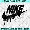Logo Nike Drip SVG - Logo Nike Drip - Nike Logo Svg - Logo Brand Svg - Brand Logo Svg - Fashion Logo Svg- Digital Download