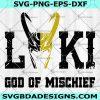 Loki God Of Mischief SVG -Loki God Of Mischief -Super Hero SVGMarvel SVG - Cricut - Digital Download