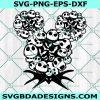 Jack Skellington Svg - Jack Skellington - Birthday Svg- Happy Birthday - - Halloween svg - Cricut - Digital Download
