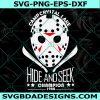 Camp Crystal Lake SVG - Jason Voorhees svg - Jason svg - Hide and Seek Champion svg - Halloween Svg - Cricut - Digital Download