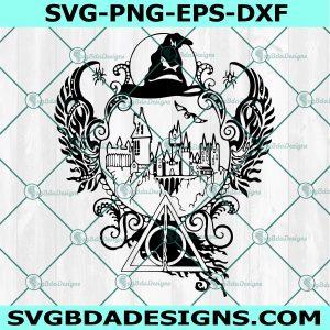 Harry Potter Magic Svg - Harry Potter - Magic SVG - Wizard svg - Hogwarts - Cricut - Digital Download