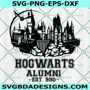 Hogwarts Alumni Svg - Hogwarts School of Witchcraft and Wizardry Svg - Hogwarts School Svg - Wizardry Svg - Harry Potter Svg -Cricut - Digital Download