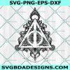 Hallows symbol svg - Harry Potter Deathy Hallows SVG - Hogwarts School Svg - Hogwarts Svg -Witchcraft Svg - Wizardry Svg - Harry Potter Svg -Cricut - Digital Download