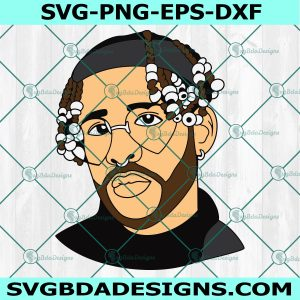 Bad Bunny Svg- Bad Bunny - Music Svg -Bad Bunny Merch - Puerto Rico Music - Cricut - Digital Download