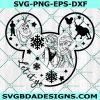 Let it go svg - Elsa svg - Anna svg - Frozen svg - Sister svg - Disney SVG - Mickey mouse svg - Princess svg - Cricut - Digital Download