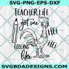 Teacher life got me feeling like Hei Hei svg - Hei hei svg -Moana svg - Teacher svg - School svg - Cricut - Digital Download